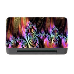 Fractal Colorful Background Memory Card Reader With Cf