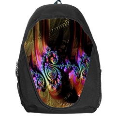 Fractal Colorful Background Backpack Bag