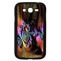 Fractal Colorful Background Samsung Galaxy Grand Duos I9082 Case (black)