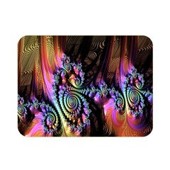 Fractal Colorful Background Double Sided Flano Blanket (mini)