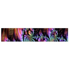 Fractal Colorful Background Flano Scarf (small)