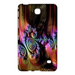 Fractal Colorful Background Samsung Galaxy Tab 4 (7 ) Hardshell Case