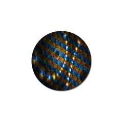 Fractal Art Digital Art Golf Ball Marker (10 pack)