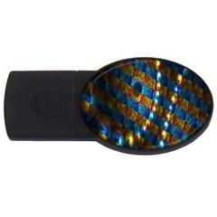 Fractal Art Digital Art USB Flash Drive Oval (1 GB)