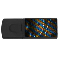 Fractal Art Digital Art USB Flash Drive Rectangular (2 GB)