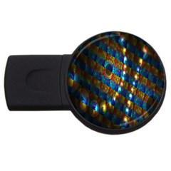 Fractal Art Digital Art USB Flash Drive Round (4 GB)