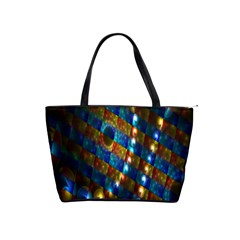 Fractal Art Digital Art Shoulder Handbags