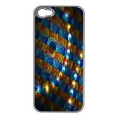 Fractal Art Digital Art Apple iPhone 5 Case (Silver)