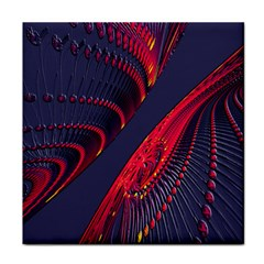 Fractal Art Digital Art Tile Coasters