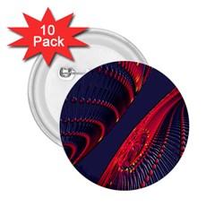 Fractal Art Digital Art 2.25  Buttons (10 pack)