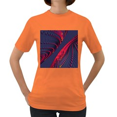 Fractal Art Digital Art Women s Dark T-Shirt