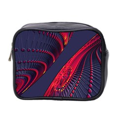 Fractal Art Digital Art Mini Toiletries Bag 2-Side
