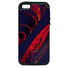 Fractal Art Digital Art Apple Iphone 5 Hardshell Case (pc+silicone)