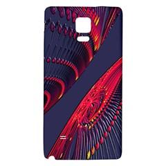 Fractal Art Digital Art Galaxy Note 4 Back Case