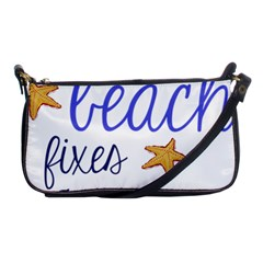 The Beach Fixes Everything Shoulder Clutch Bags