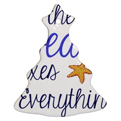 The Beach Fixes Everything Ornament (christmas Tree)