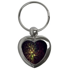 Fractal Flame Light Energy Key Chains (Heart)