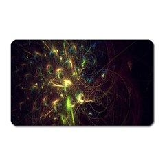 Fractal Flame Light Energy Magnet (Rectangular)