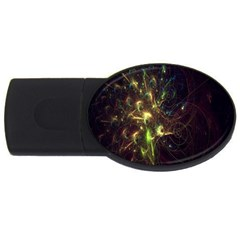Fractal Flame Light Energy USB Flash Drive Oval (1 GB)