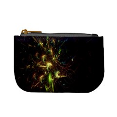 Fractal Flame Light Energy Mini Coin Purses