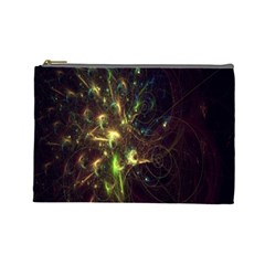 Fractal Flame Light Energy Cosmetic Bag (Large)
