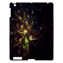 Fractal Flame Light Energy Apple Ipad 3/4 Hardshell Case