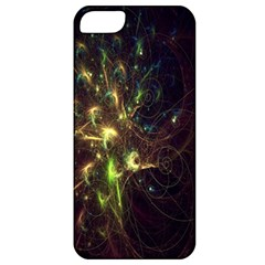 Fractal Flame Light Energy Apple iPhone 5 Classic Hardshell Case