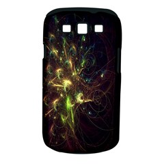 Fractal Flame Light Energy Samsung Galaxy S III Classic Hardshell Case (PC+Silicone)