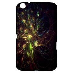 Fractal Flame Light Energy Samsung Galaxy Tab 3 (8 ) T3100 Hardshell Case