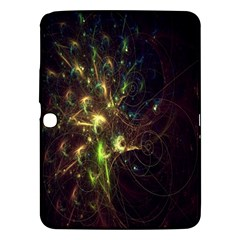 Fractal Flame Light Energy Samsung Galaxy Tab 3 (10.1 ) P5200 Hardshell Case