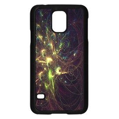 Fractal Flame Light Energy Samsung Galaxy S5 Case (Black)