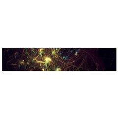 Fractal Flame Light Energy Flano Scarf (Small)
