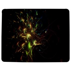 Fractal Flame Light Energy Jigsaw Puzzle Photo Stand (Rectangular)