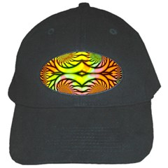 Fractals Ball About Abstract Black Cap