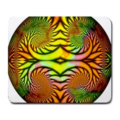 Fractals Ball About Abstract Large Mousepads