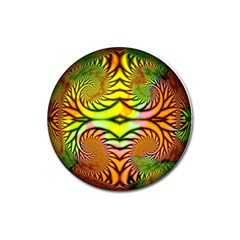 Fractals Ball About Abstract Magnet 3  (round)