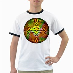 Fractals Ball About Abstract Ringer T Shirts
