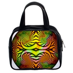 Fractals Ball About Abstract Classic Handbags (2 Sides)