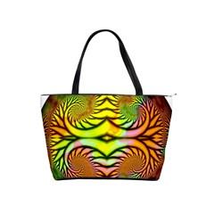 Fractals Ball About Abstract Shoulder Handbags