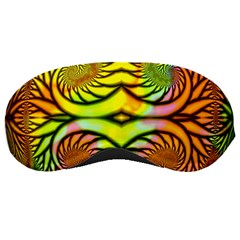 Fractals Ball About Abstract Sleeping Masks