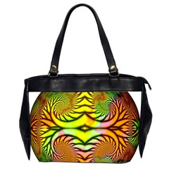 Fractals Ball About Abstract Office Handbags (2 Sides)