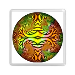 Fractals Ball About Abstract Memory Card Reader (Square)