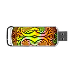 Fractals Ball About Abstract Portable Usb Flash (one Side)