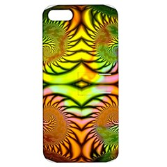 Fractals Ball About Abstract Apple iPhone 5 Hardshell Case with Stand