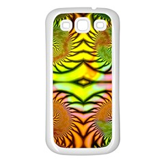 Fractals Ball About Abstract Samsung Galaxy S3 Back Case (White)