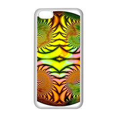 Fractals Ball About Abstract Apple Iphone 5c Seamless Case (white)