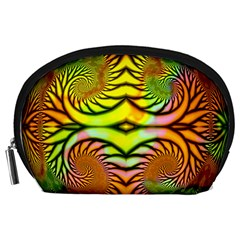 Fractals Ball About Abstract Accessory Pouches (large)