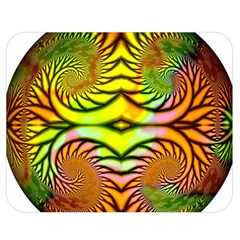 Fractals Ball About Abstract Double Sided Flano Blanket (medium)