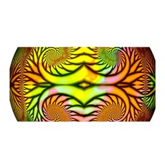 Fractals Ball About Abstract Satin Wrap