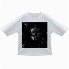 Fractal Sphere Steel 3d Structures Infant/Toddler T-Shirts